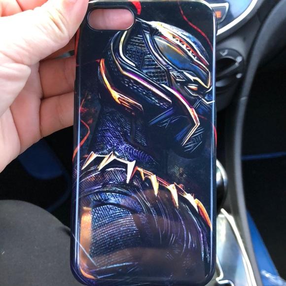 premium selection faeb7 7e202 iPhone 8 case black panther
